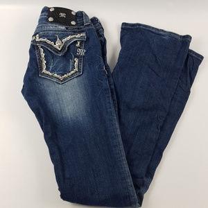 Miss me 28 boot cut jeans pants